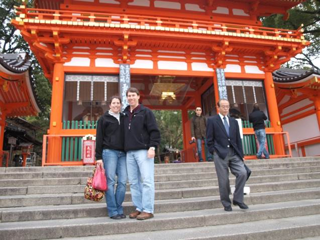Mark on a Research Trip to Japan